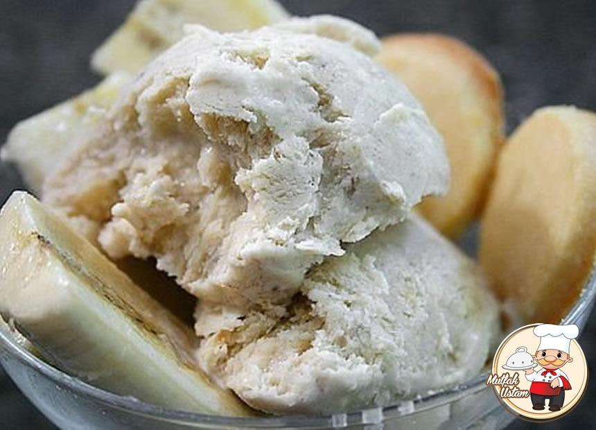 Katkısız Muzlu Dondurma