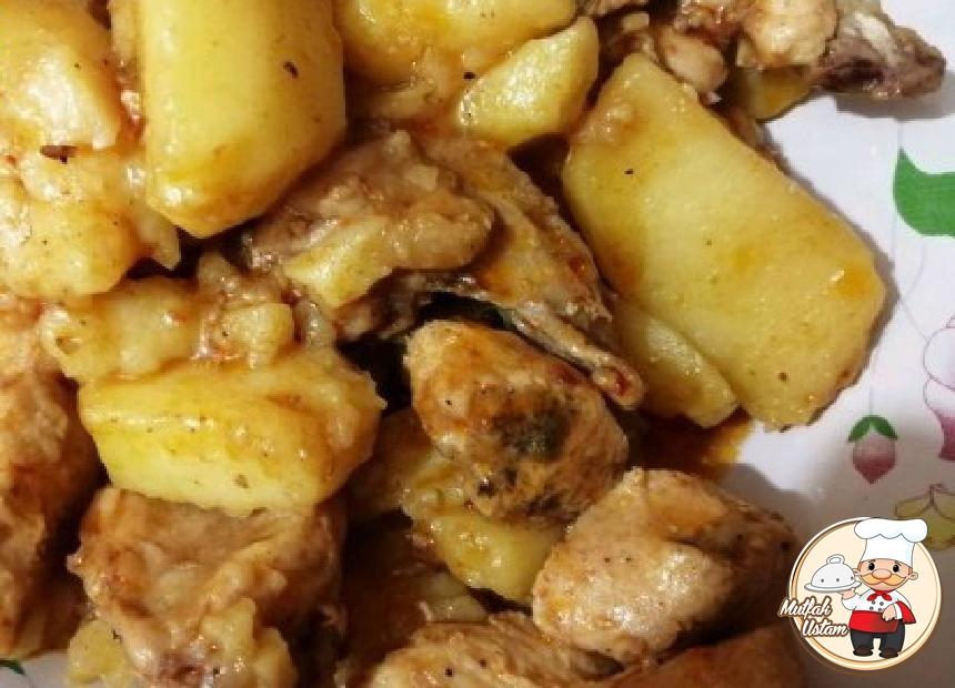 Tavuklu Baharatlı Patates