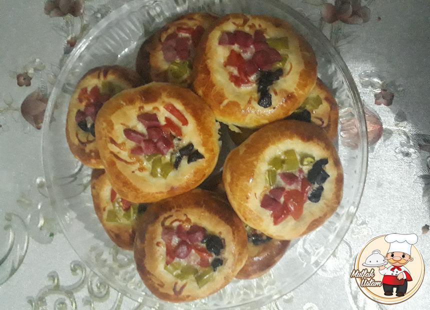 Minik Poğaça Pizza