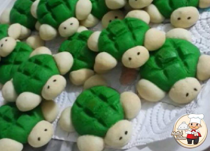 Yeşil Kaplumbağa Kurabiye
