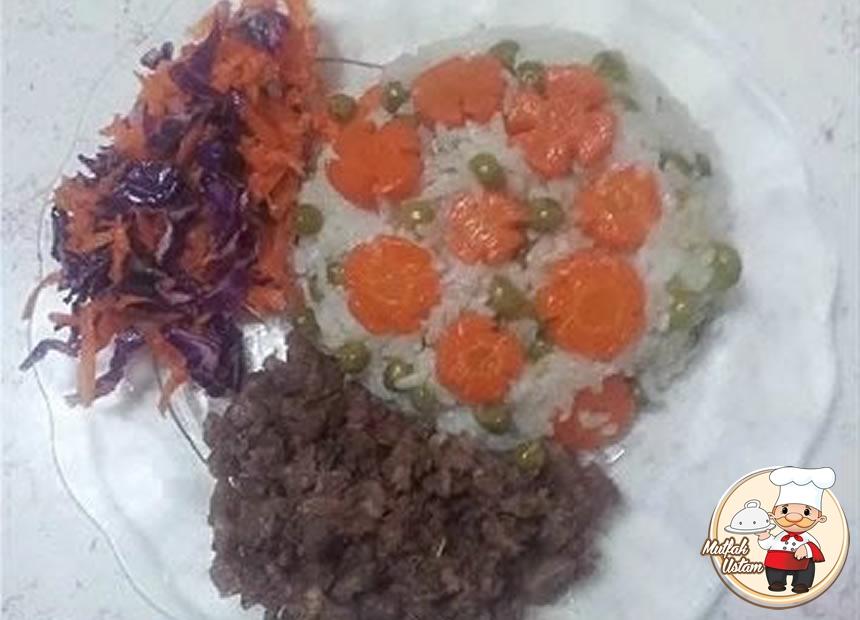 Havuçlu Bezelyeli Pirinç Pilavı