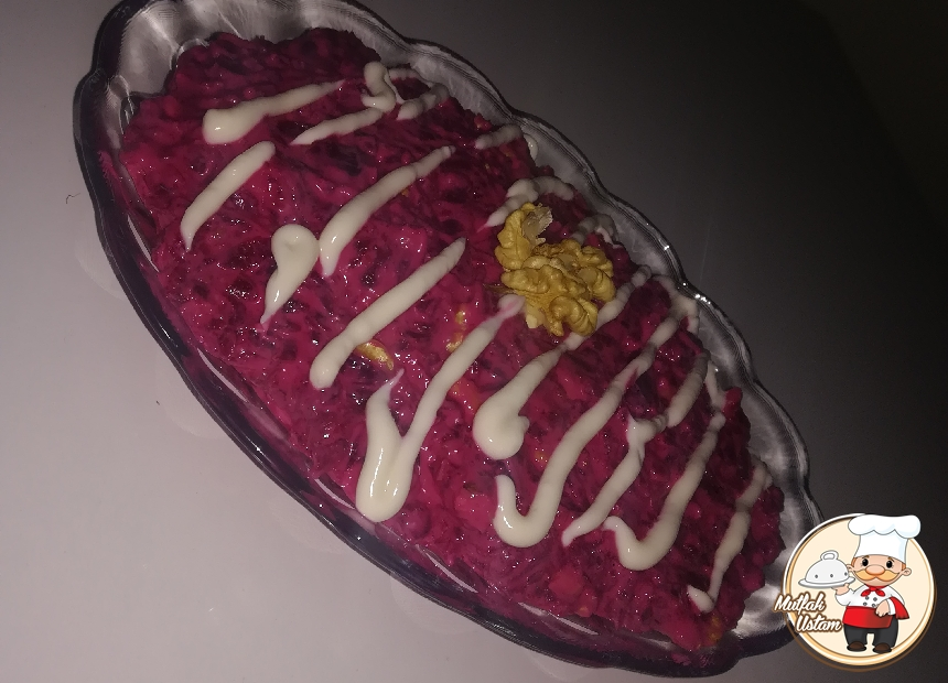 Çuğundur (Pancar) Salatası