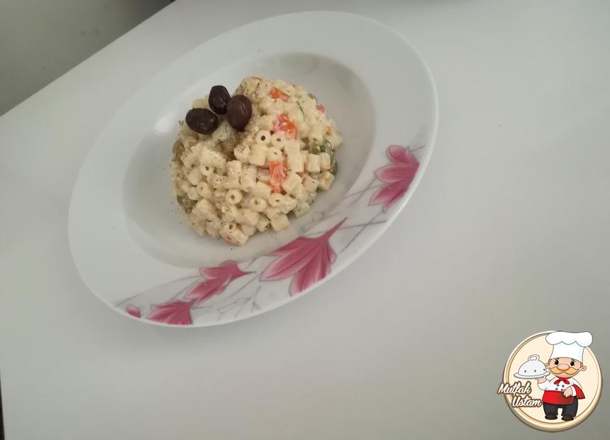 Rus Salatası - Amerikan Slatası - Makarna Salatası