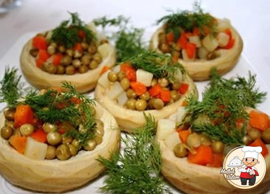 Sebzeli Enginar Yemeği